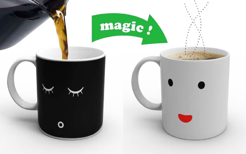 awake colour changing mug