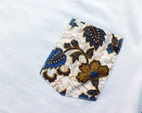batik pocket tshirt