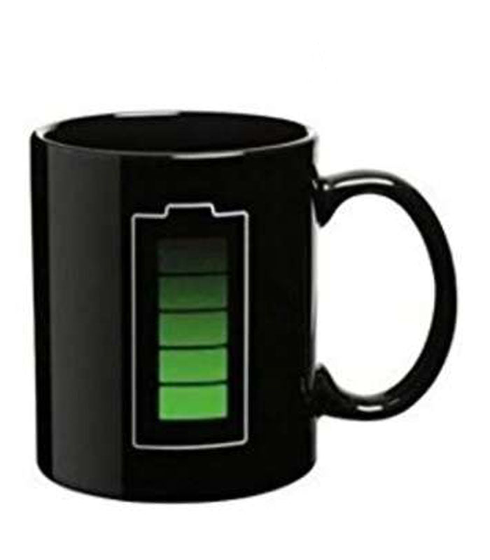 battery colour changing mug