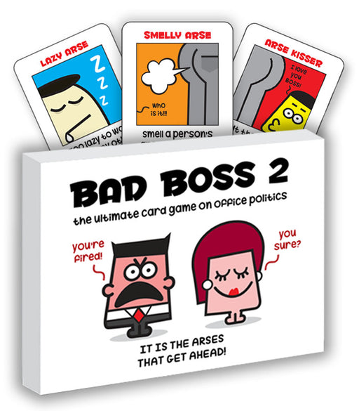 bad boss 2 card game
