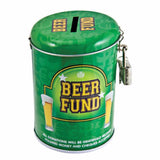 beer fund savings tin