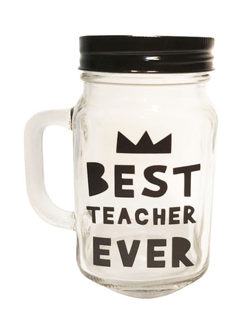 best teacher mason jar