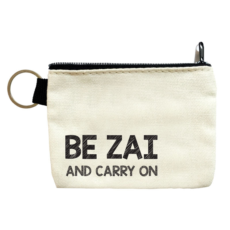 be zai and carry on coin pouch