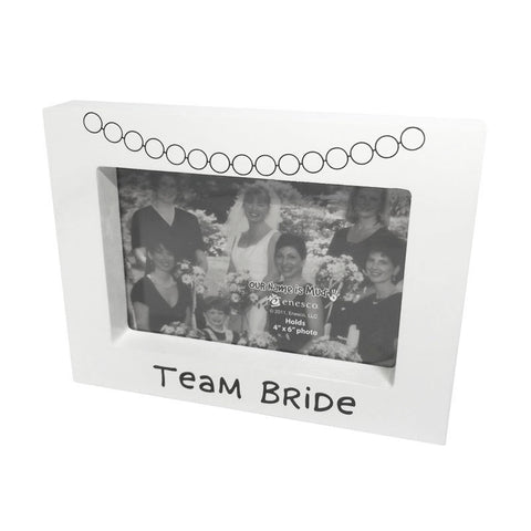 team bride photoframe