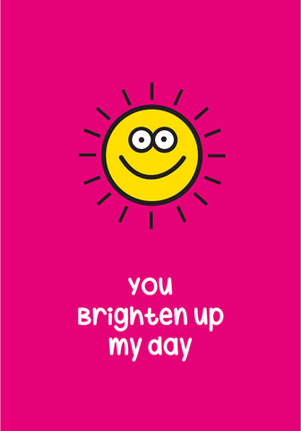 brighten my day card