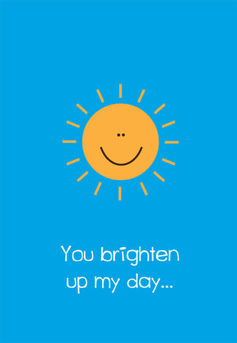 brighten up my day card