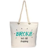 broke tote bag