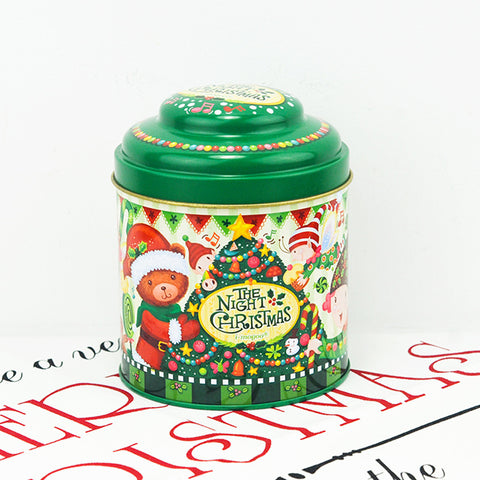 night christmas can gift tin