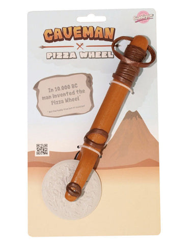 caveman pizza wheel