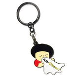 chew - badge keyring