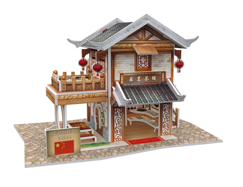 puzzle 3D china teahouse