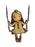la marelle girl on swing necklace