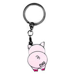 chu - badge keyring
