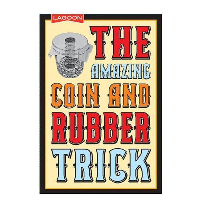 the amazing coin and rubber trick