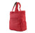 compatto shopper bag red