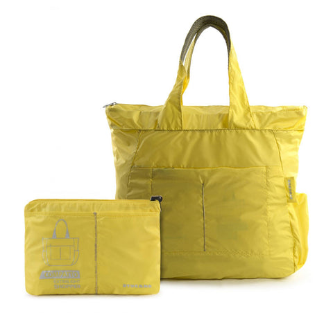 compatto shopper bag yellow