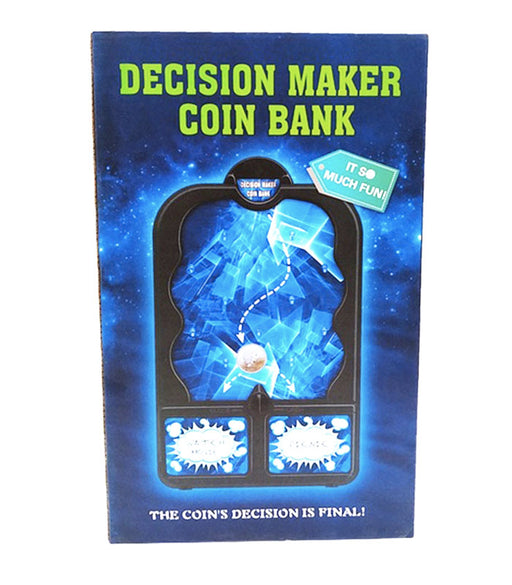 decision maker coin bank