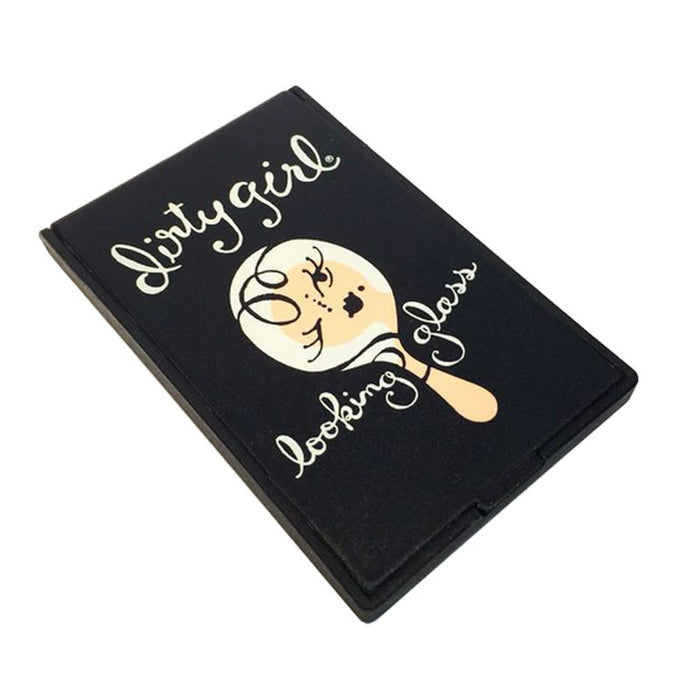 dirty girl pocket mirror