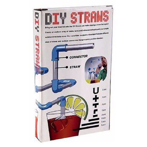 diy drinking straws set