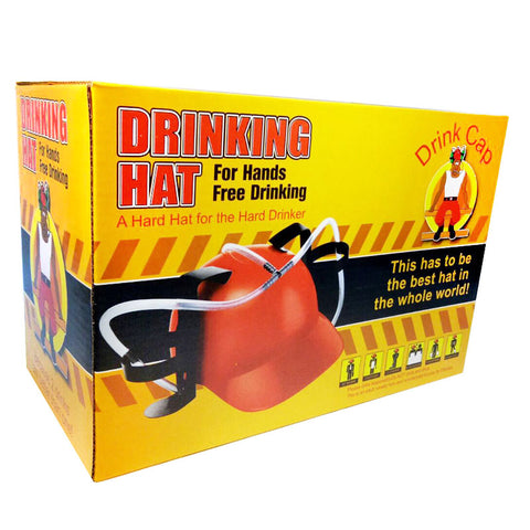 beer holder drinking hat