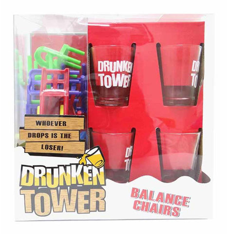 drunken tower chairs