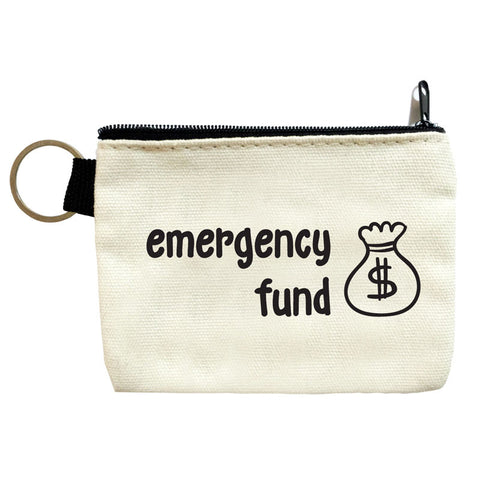 emergency fund coin pouch