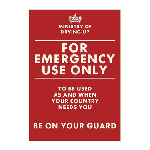 emergency tea towel
