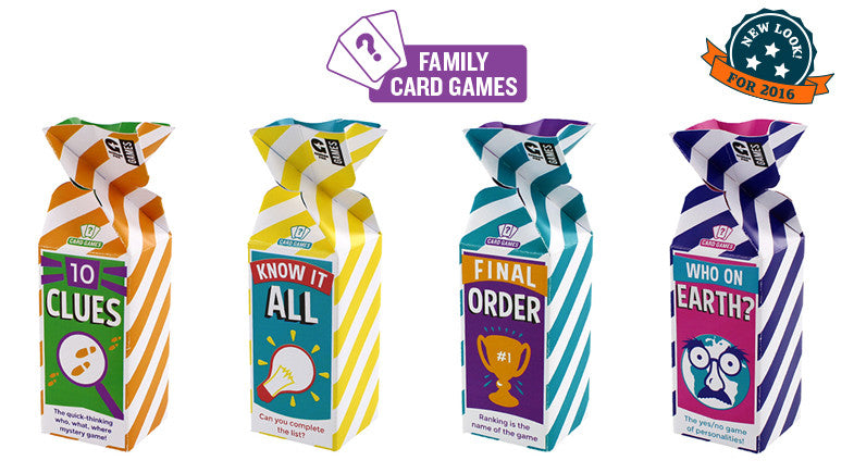 family card games - 10 clues