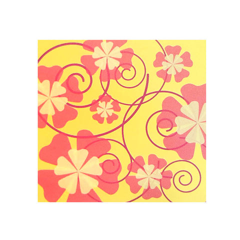 flowers gift tag (3 pieces)