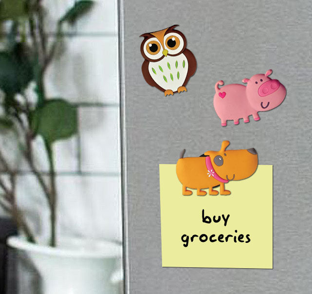 googly bird fridge magnet