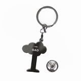 gao - badge keyring