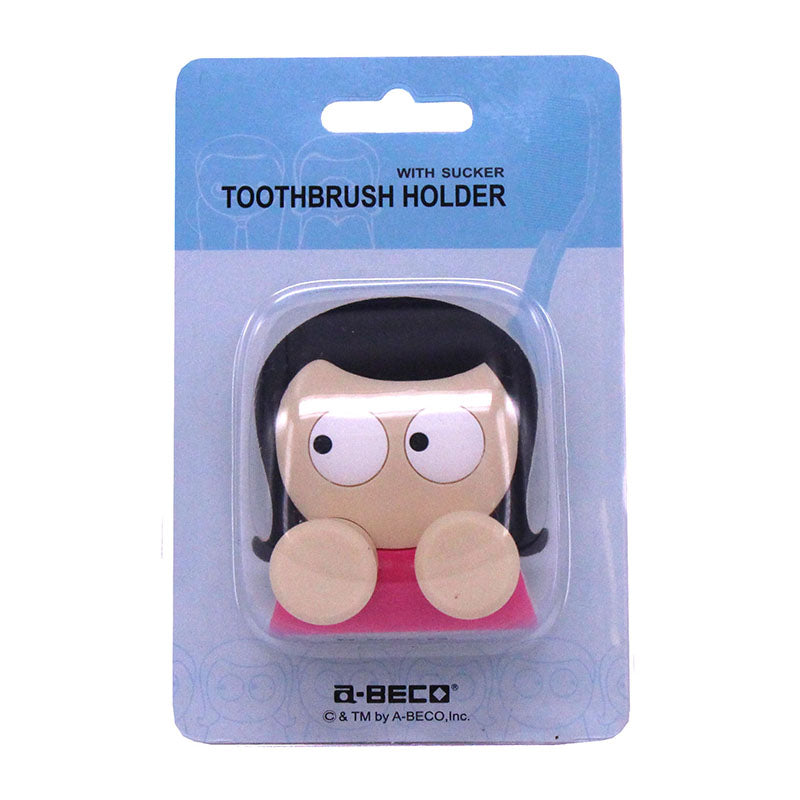 girl toothbrush holder