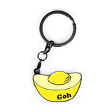 goh - badge keyring