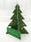 green christmas tree card