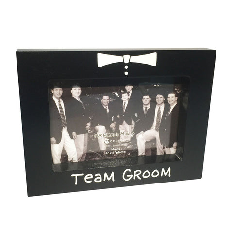 team groom photoframe