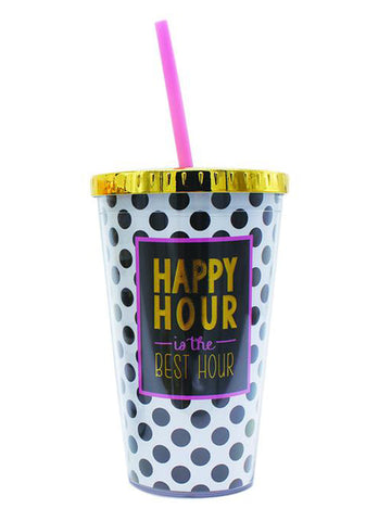 happy hour coffee tumbler