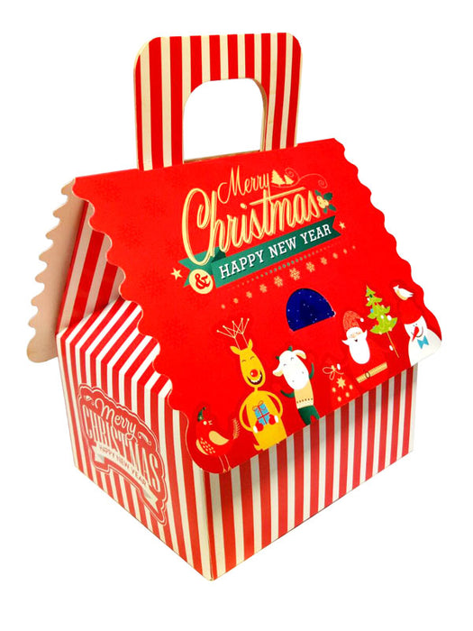 christmas house gift box