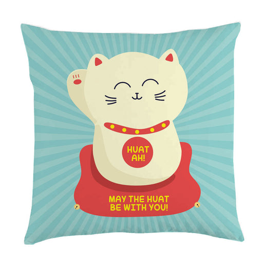huat cat cushion