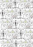 just married gift wrapper (10 sheets)