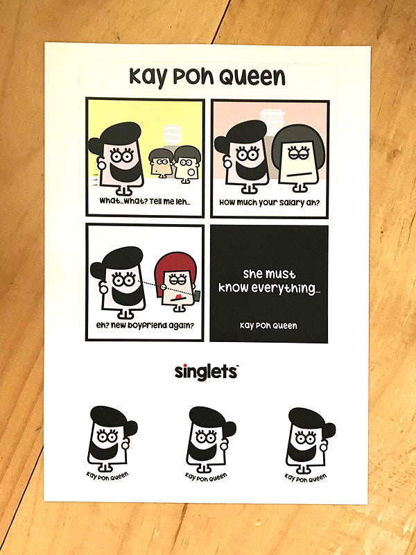 kay poh sticker set