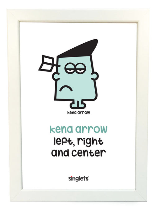kena arrow poster