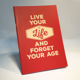 live your life notebook