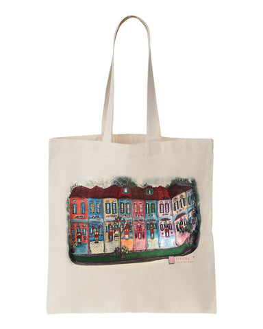 shophouse street tote bag