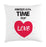 time for love cushion