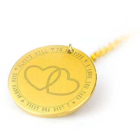 love wife pendant
