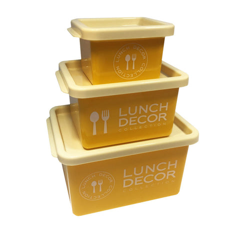 set of 3 lunch box