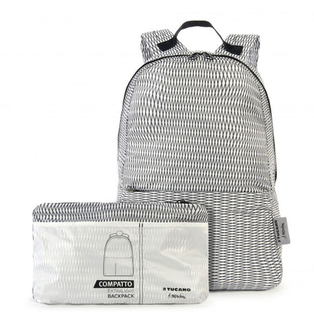 compatto backpack by mendini white