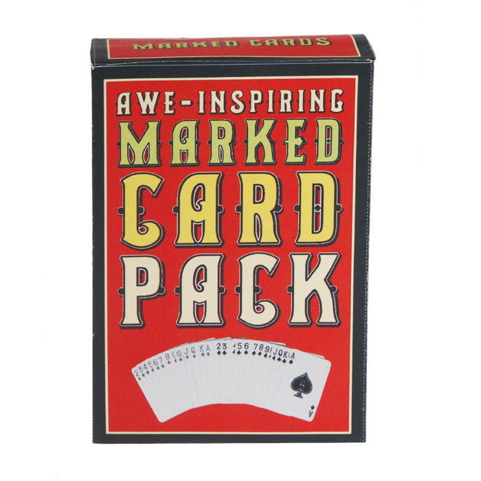 the awe-inspiring marked card pack