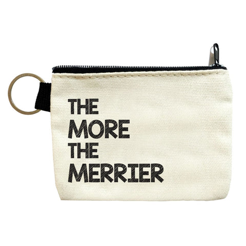 the more the merrier coin pouch
