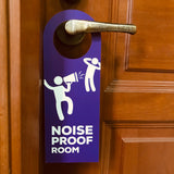 noise proof room doorsign